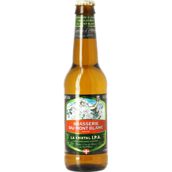 Bottled beer - Mont Blanc Cristal IPA