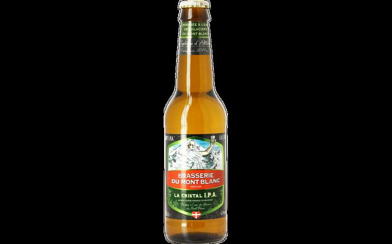 Bottled beer - Mont Blanc Cristal IPA