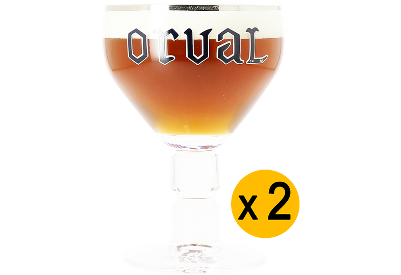 Bicchieri - 2 Bicchieres Orval - 33cl