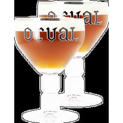 Verres à bière - Pack 2 Verres Orval - 33 cl