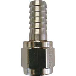 "Brouwgereedschap - 1/4"" Barbed Swivel Nut"