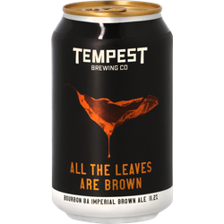 Bottiglie - Tempest All the Leaves Are Brown - Bourbon Barrel Aged
