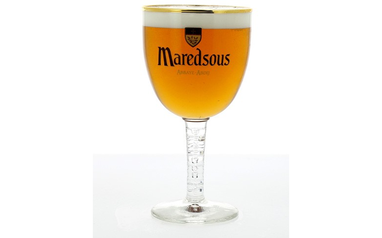 Beer glasses - Classic Maredsous stemmed glass