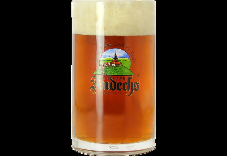 Verres à bière - Chope en verre Andechs - 50 cl