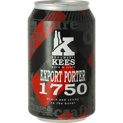 Bottled beer - Kees Export Porter 1750 - Can
