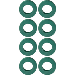 Brewer s accessories - Set of 8 rubbers for plate filter with pump Rover