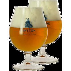 Biergläser - Pack 2 Verres Einstok - 25 cl