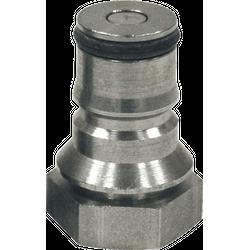 """Brewer s accessories - Connecteur Inox liquide, pour fûts type """"Soda Keg"""""""
