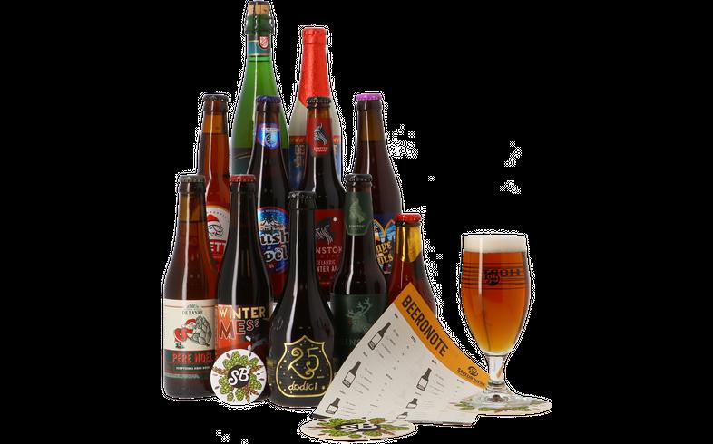 Gåvor - Coffret bières de Noël