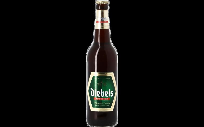 Flaschen Bier - Diebels Alkoholfrei