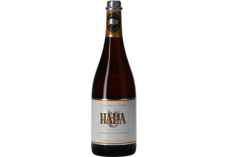 Bottled beer - Goose Island Halia 2017