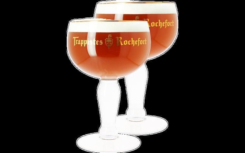 Biergläser - Pack 2x 33cl Trappistes de Rochefort Gläser
