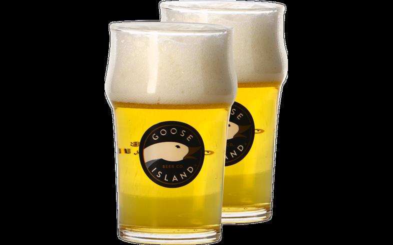 Bicchieri - 2 Bicchieri Goose Island - 25cl