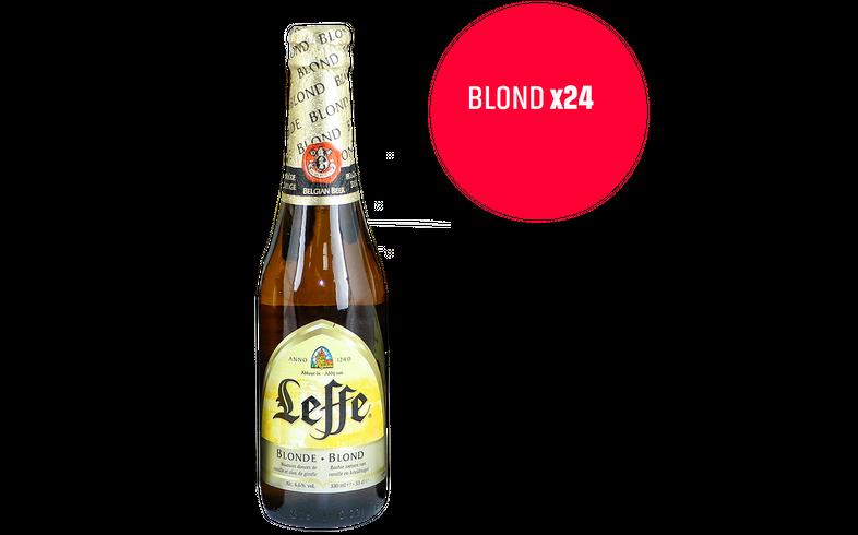 Deel met uw buren - Leffe Blonde 24 Pack