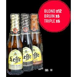 Deel met uw buren - Leffe Blond, Bruin & Tripel 24-Pack