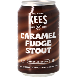 Bouteilles - Kees Caramel Fudge Stout - Canette