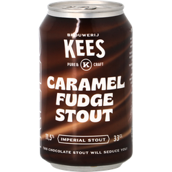 Flaskor - Kees Caramel Fudge Stout - Canette