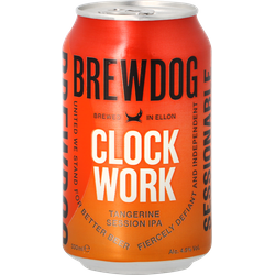 Bottled beer - Brewdog Clockwork Tangerine - Can