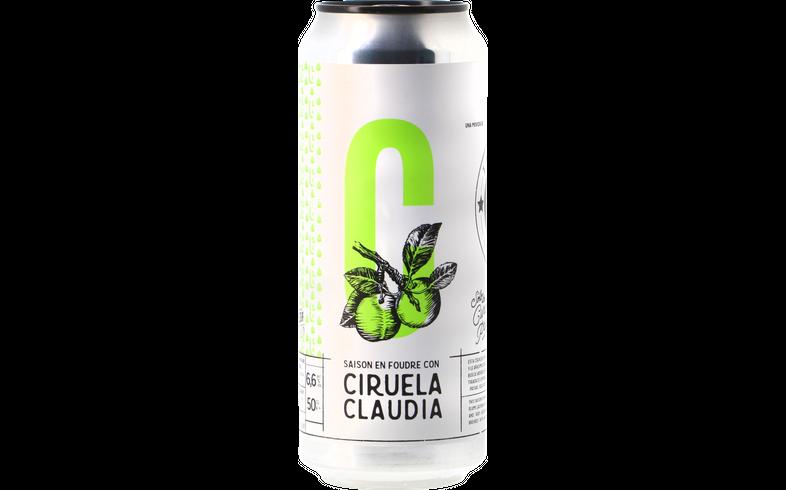 Bottled beer - La Virgen Saison Ciruela Claudia