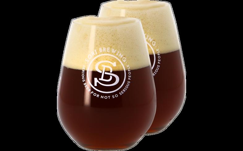 Bottiglie - 2 Bicchieri Sori Brewing - 33cl