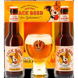 Accessoires et cadeaux - Coffret Jack Beer - 2 bières + 1 verre 25 cl