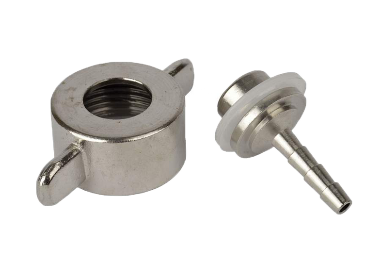 Brewer s accessories - hose-fitting 4 mm for CO2-regulator