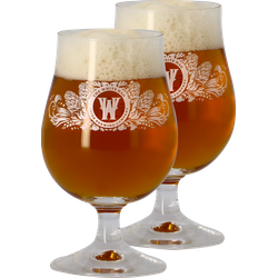 Beer glasses - 2 Glasses The White Hag - 25 cl