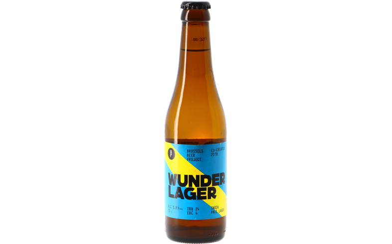 Bouteilles - Brussels Beer Project Wunder Lager