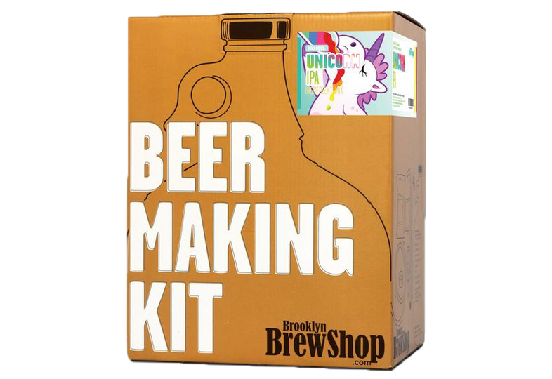 Kit à bière tout grain - Brooklyn Brew Kit Unicorn IPA