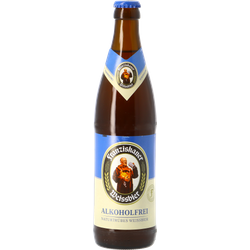 Bottled beer - Hefe-Weissbier Alkoholfrei 50cl