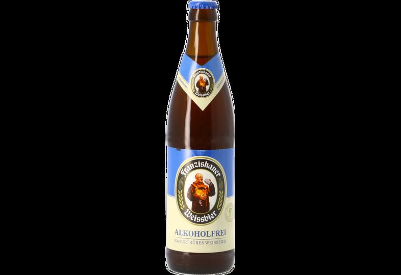 Bottled beer - Hefe-Weissbier Alkoholfrei 50cl