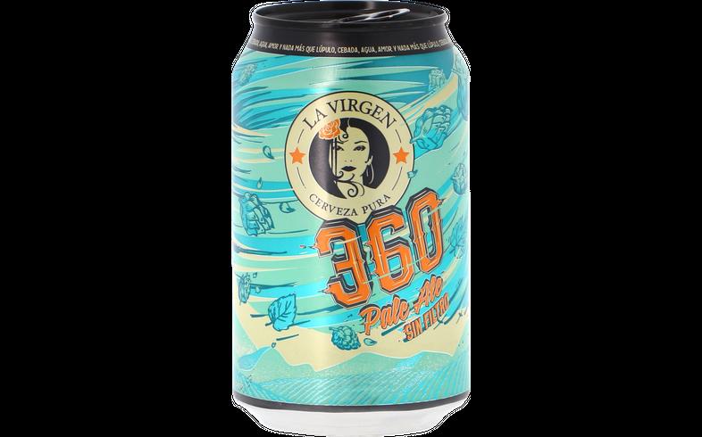 Bottled beer - La Virgen 360 can