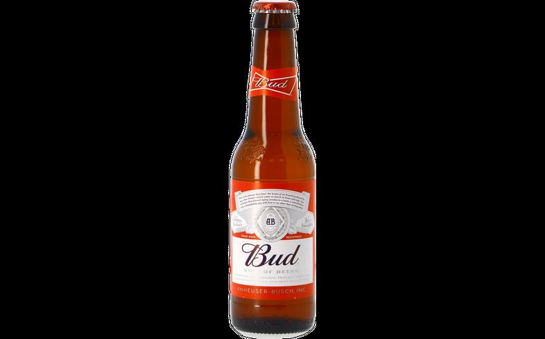 Bottled beer - Bud 25cl