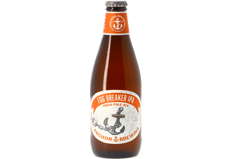 Botellas - Anchor Fog Breaker IPA