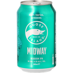 Bottled beer - Goose Island Midway Session IPA