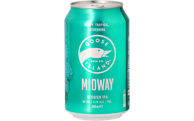Flessen - Goose Island Midway Session IPA