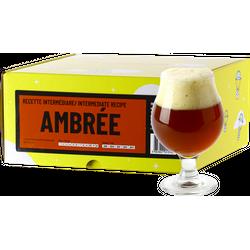 Vollkornbier-Kit - Amber Bier Rezept-Nachfüllung für fortgeschrittene Braukit