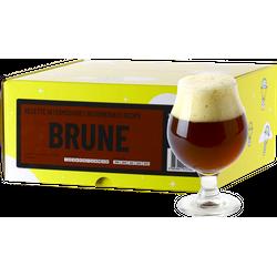 Kit à bière tout grain - Recette Bière Brune - Recharge pour Beer Kit Intermédiaire