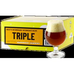 Kit à bière tout grain - Recette Bière Triple - Recharge pour Beer Kit Intermédiaire