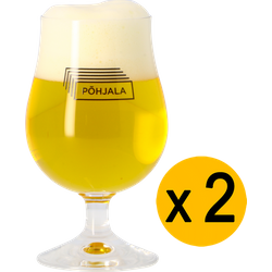 Verres à bière - Pack 2 Verres Põhjala - 25 cl