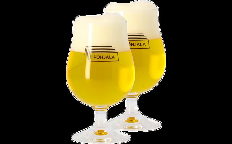 Biergläser - Pack 2x 25cl Põhjala Gläser