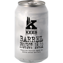 Bouteilles - Kees Barrel Project 18.12 - Canette