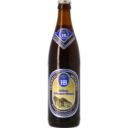 Flessen - Hofbräu Schwarze Weisse