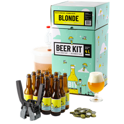 All-Grain Beer Kit - Beer Kit Débutant complet Blonde