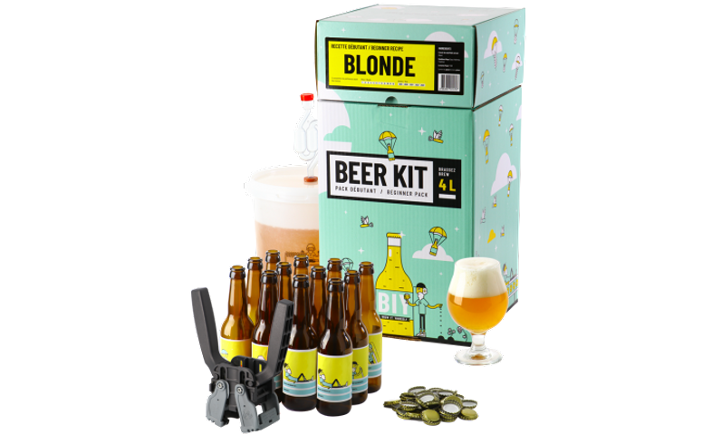 All-Grain Bier Kit - Bierbrouw Pakket Compleet Beginners - Blond bier XXL