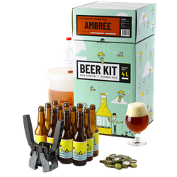 All-Grain Bier Kit - Brouw Kit Beginners: ik brouw en bottel Amberbier