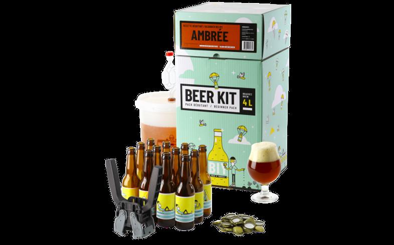 Kit de Cerveza Todo Grano - Beer Kit COMPLETO de iniciación - Cerveza Amber Ale