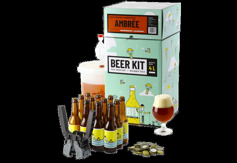 All-Grain Bier Kit - Brouw Kit Beginners: ik brouw en bottel Amberbier