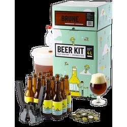 Kit à bière tout grain - Beer Kit Débutant Complet Bière Brune