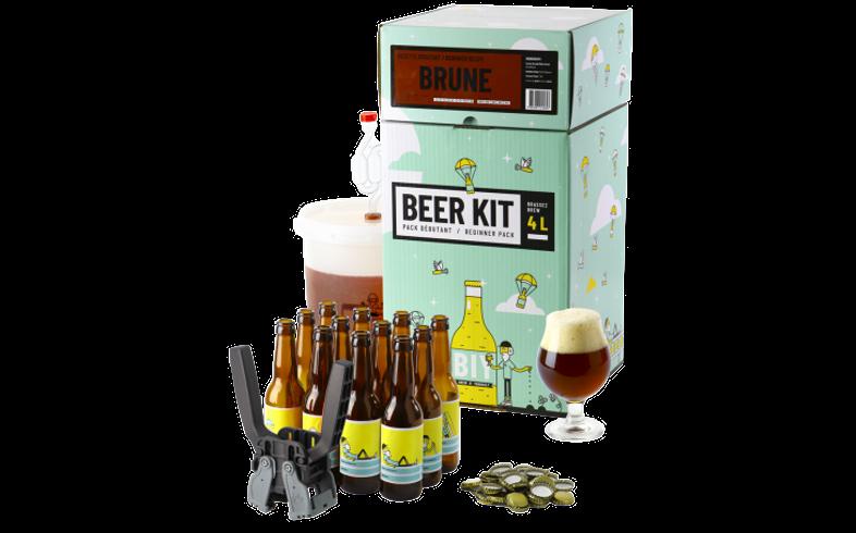 Kit de Cerveza Todo Grano - Beer Kit COMPLETO de iniciación - Cerveza oscura